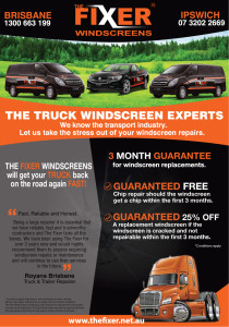 The Fixer fixes windscreens all over Brisbane and Ipswich